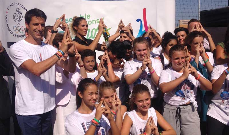 82 Per Cent of French Youth Back Paris 2024 Olympic Bid