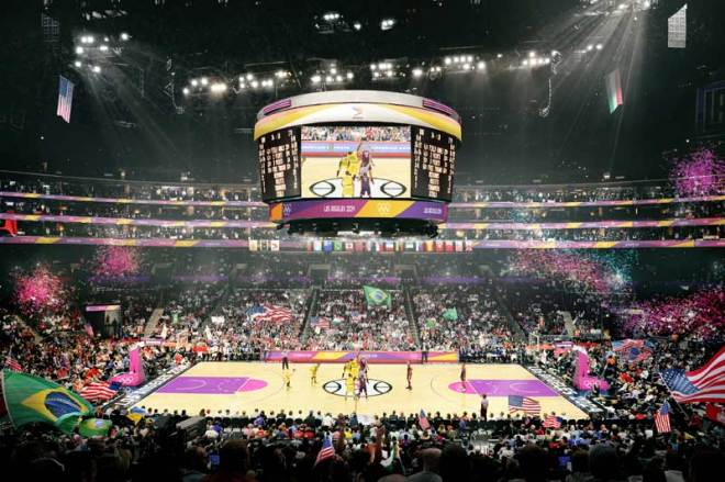 LA 2024 - Staples Center - Olympic Basketball and Paralympic Wheelchair Basketball