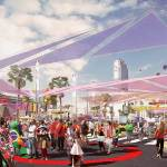 "LA 2024 - Figueroa Street - Live Site ""Olympic Way"