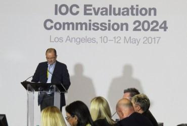 IOC 2024 Evaluation Commission Visit Kicks Off In Los Angeles