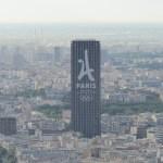 Paris 2024 branding adorns Paris Hotel during IOC Evaluation Commission Visit (GamesBids Photo)