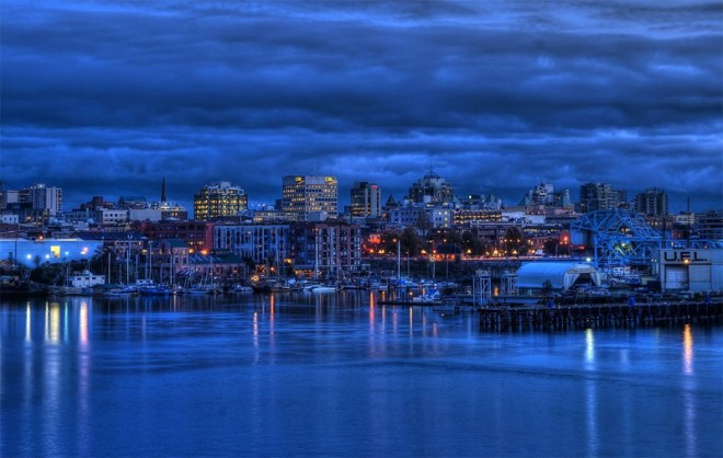 Victoria, British Columbia skyline (Photo: Brandon Godfrey)