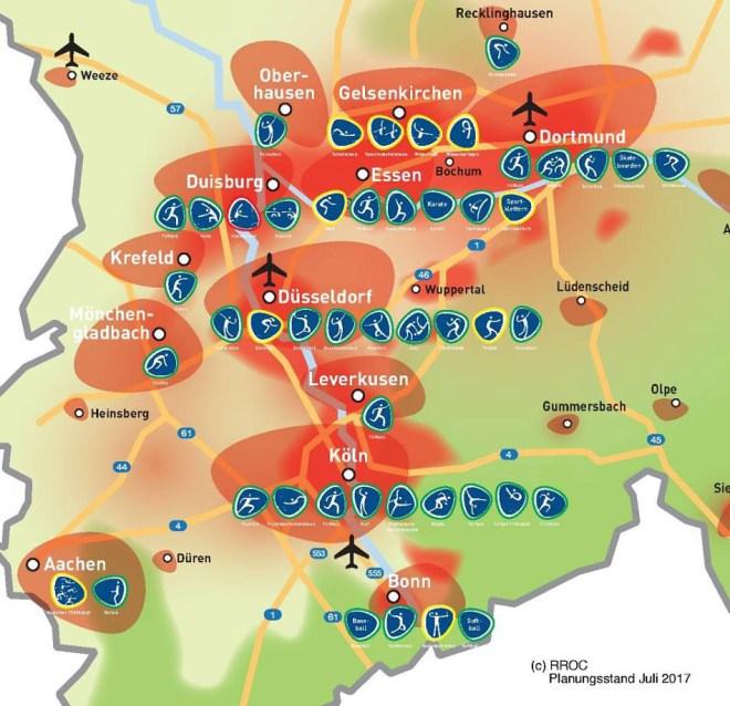 Rhein Ruhr Olympic City 2032 Olympic bid plan