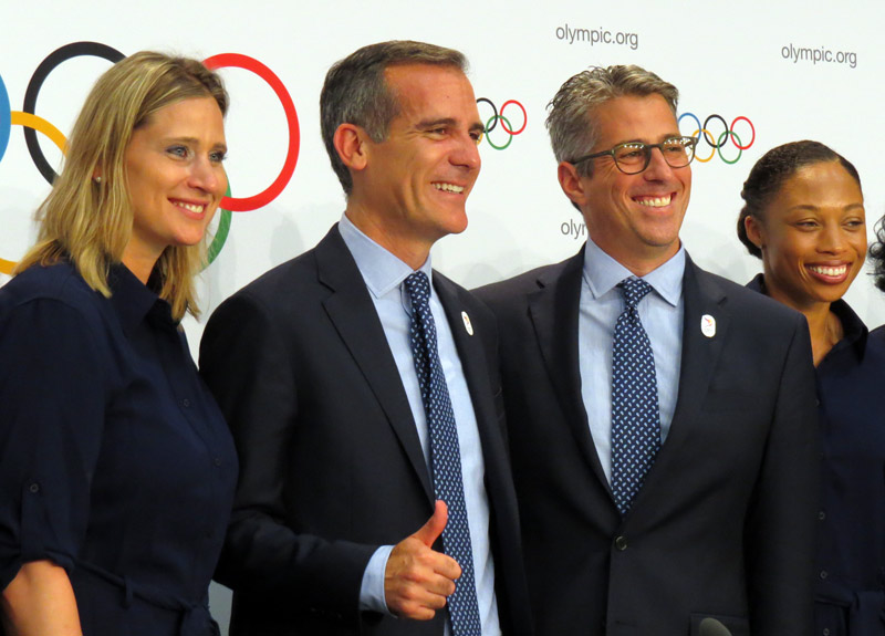 LA 2024 Welcome Possible Dual Olympic Award And Claim They Cannot Bid Again