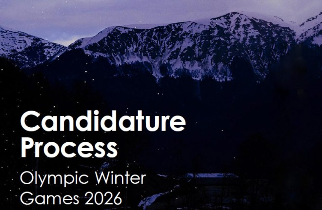 IOC 2026 Olympic Winter Games Candidature Process (IOC Document Cover)