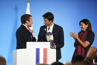Paris 2024 Makes Triumphant Return To France With A Presidential Welcome