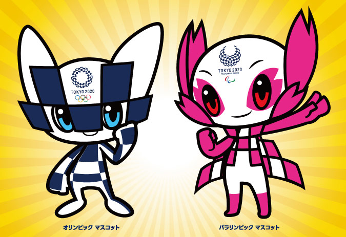 Olympic Games Mascots revealed for Tokyo 2020