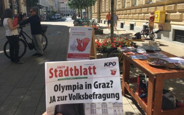 Councillor Calls For Graz 2026 Olympic Bid Referendum After Collecting Required Petition Signatures