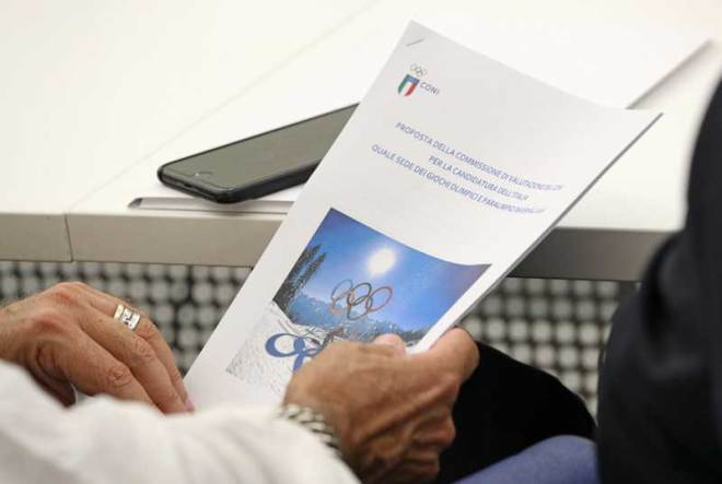 Italy has proposed a joint Milan and Cortina 2026 Olympic Winter Games bid (CONI Photo)