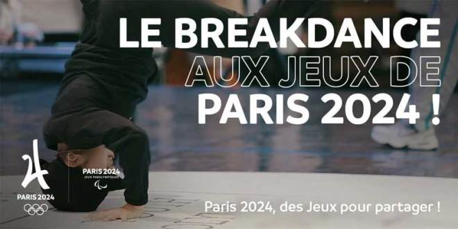 Breakdancing recommended for inclusion at Paris 2024 Olympic Games