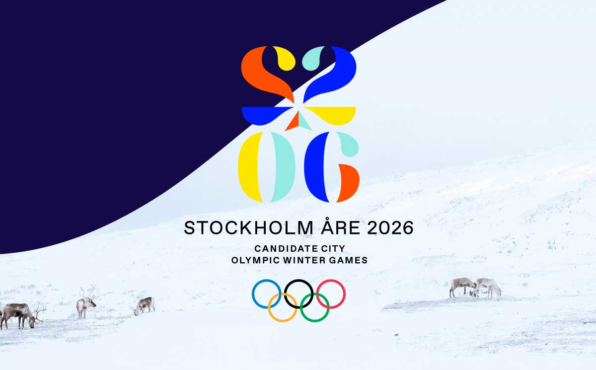 Stockholm Are 2026 Launches Made In Sweden Olympic Bid Branding Gamesbids Com