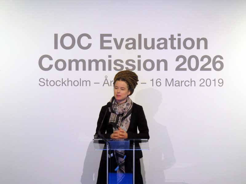 Swedish Sport Minister Sees Close 2026 Olympic Winter Games Bid Race With Italy