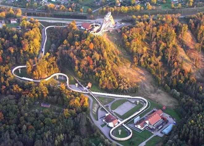 Latvian President Arturs Krisjanis Karins approves use of Sigulda sliding track at proposed Stockholm Åre 2026 Olympic Winter Games by providing support (Stockholm Åre 2026 Photo)
