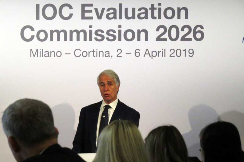 Malagò To Lead Milan-Cortina 2026 Olympic Organizing Committee Should Bid Prevail