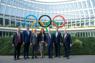 IOC President Bach Says Australia's 2032 Olympic Bid Could Be Elected Early