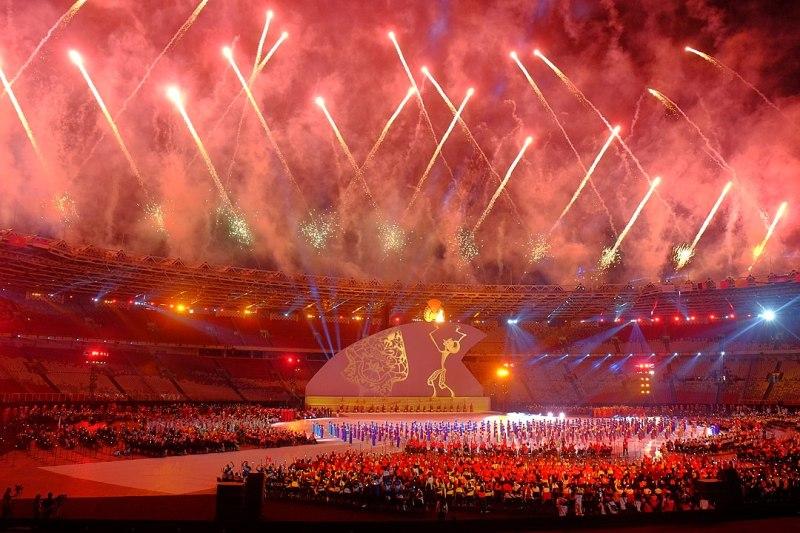 Asian Para Games closing ceremony in Gelora Bung Karno Stadium, 2018