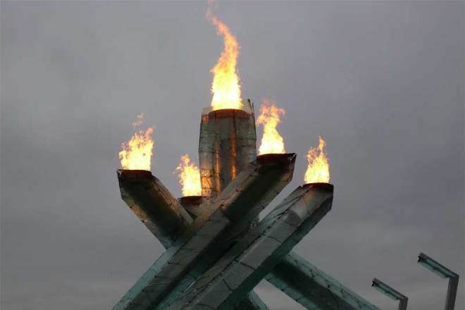 Vancouver 2010 Olympic Cauldron (GamesBids Photo)