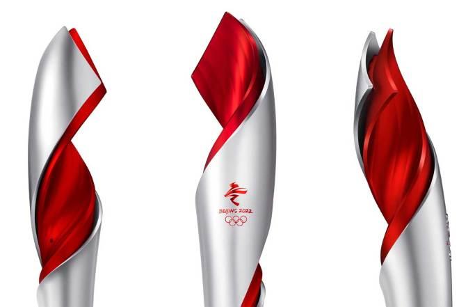 Beijing 2022 Olympic Winter Games torch (IOC Photo)