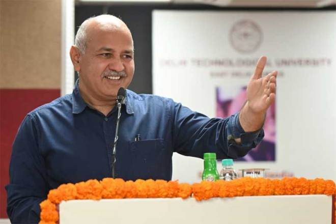 Delhi Deputy Chief Minister Manish Sisodia (Twitter Photo)