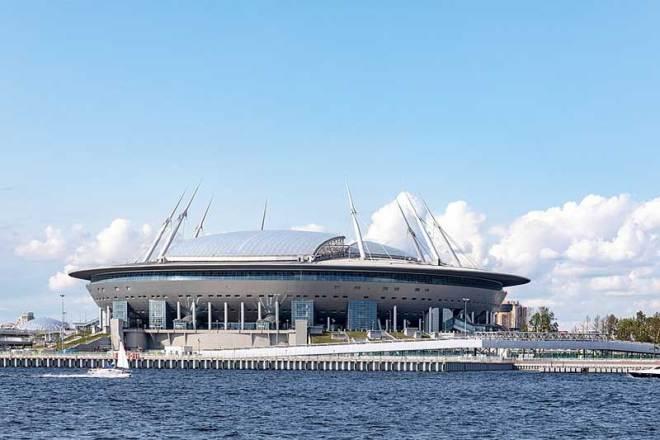 Gazprom Krestovsky Stadium in St. Petersburg, Russia (Photo: Ninara)