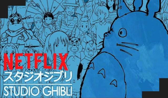 Studios Ghibli Netflix