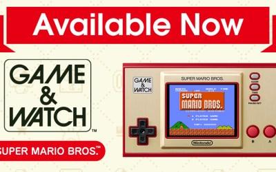Game & Watch Super Mario Bros Limited Edition