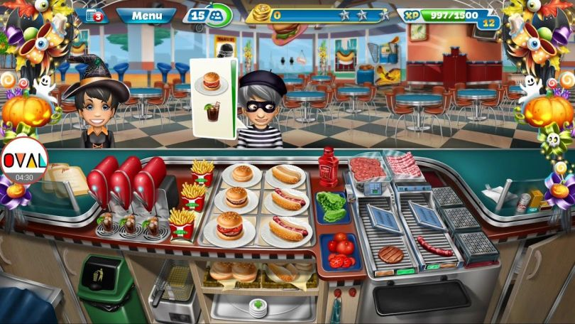 Cooking Fever Mod Apk Unlimited Money And Gems