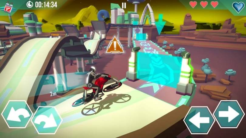 Gravity Rider Mod Apk Unlimited Money
