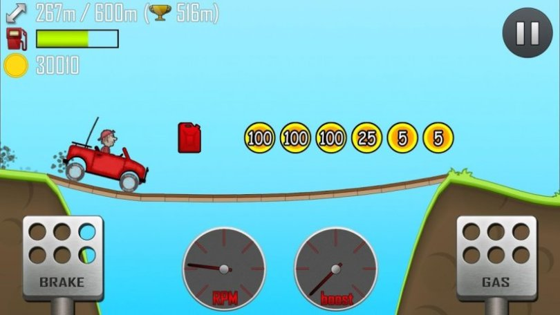 Game Hill Climb Racing Mod Apk