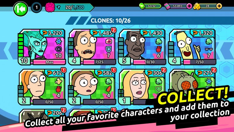 Rick and Morty Clone Rumble Apk