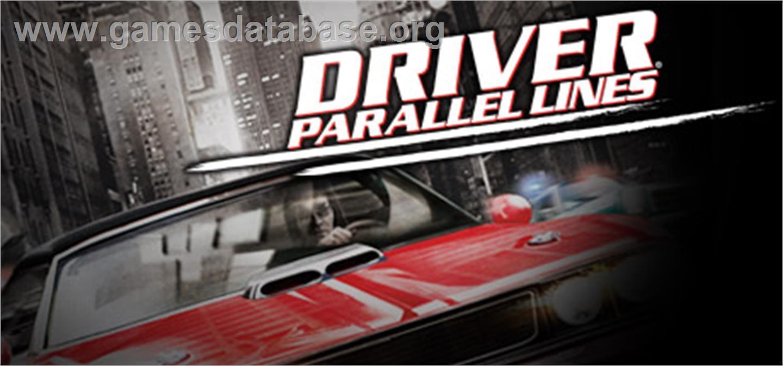 Driver Parallel Lines Valve Steam Games Database