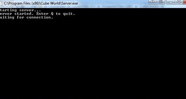 cubeworldserverstart