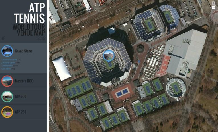 best Billie Jean King Tennis Center Site Map image collection