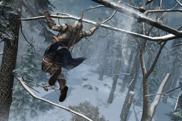 Assassin's Creed III - Connor trepando árboles