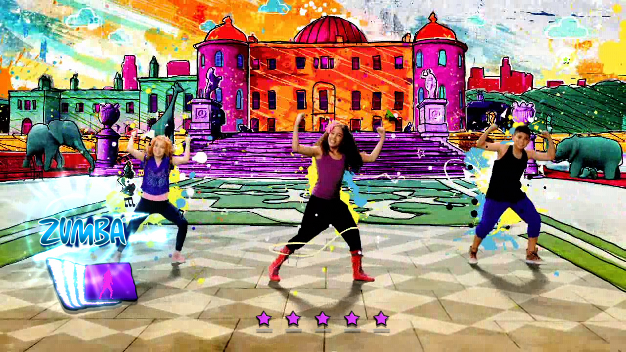 Games Fiends Zumba Kids Xbox360 Review