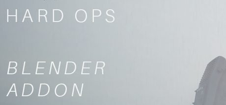 Blender 3D (2.8): Hard Ops 0096 - Promethium Free Download