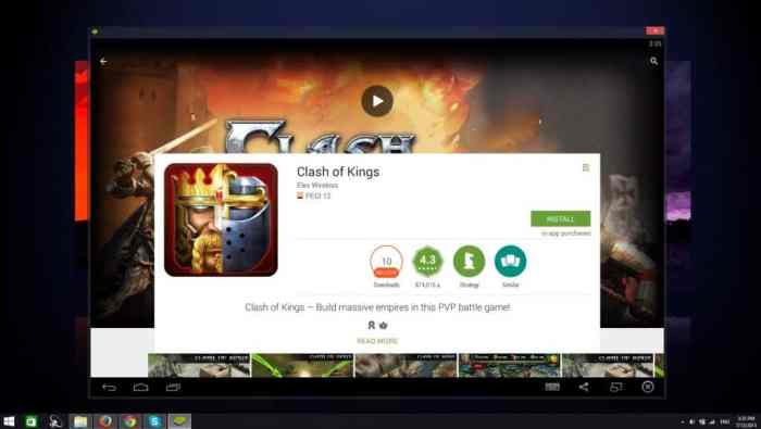 Clash of Kings pc bluestacks