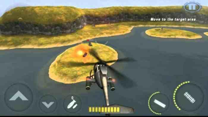 GUNSHIP BATTLE Helicopter 3D download