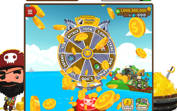 Pirate Kings download spins