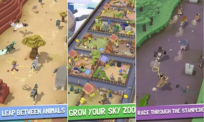 download Rodeo Stampede Sky Zoo Safari