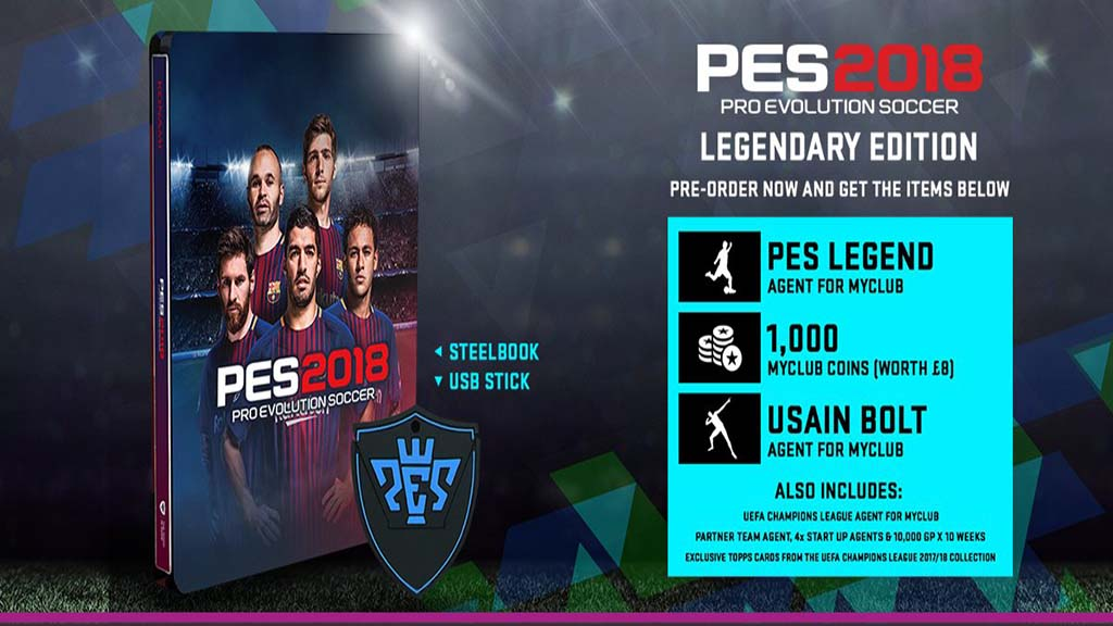 Pro Evolution Soccer 2018: Legendary Edition