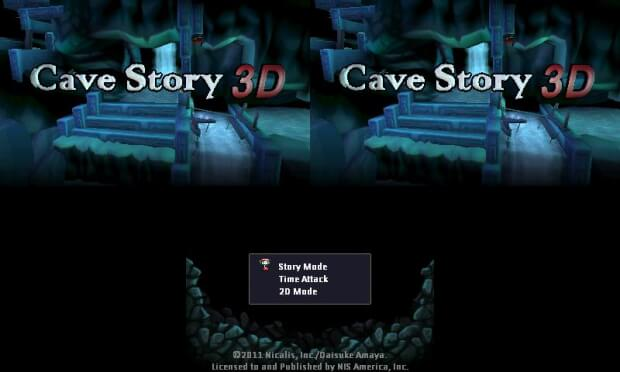 Cave Days Video Game screen shot 1