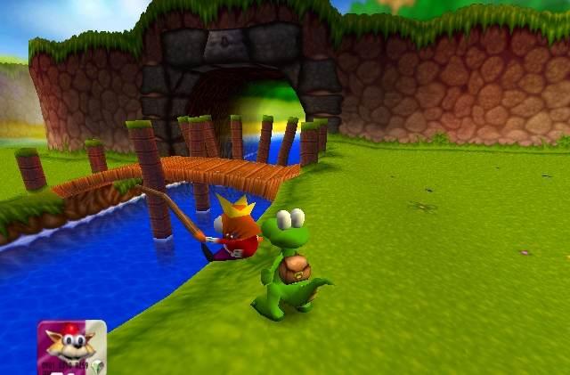 Croc 2 (PC) Game Screen shot 2