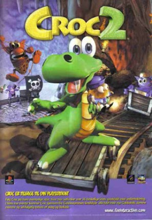 Croc 2 (PC)Game Cover