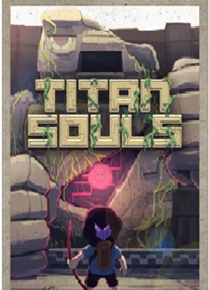 Titan Souls Video Game cover