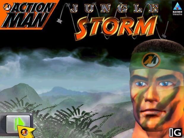 Action Man Jungle Storm game screenshot 1