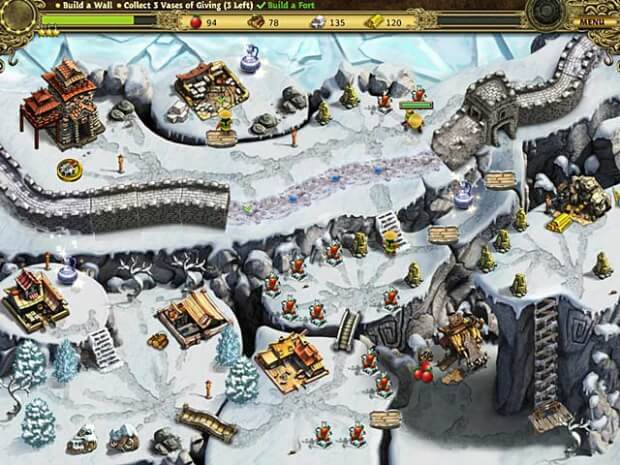 Building the Great Wall of China game screen shot 2