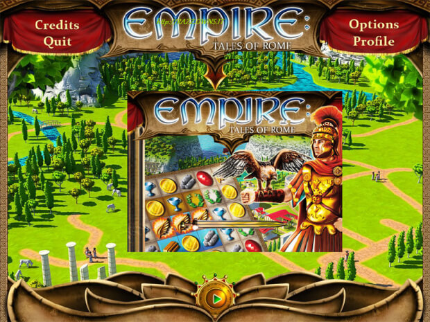 Empire Tales of Rome PC screen shot 1