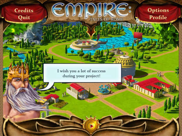 Empire Tales of Rome PC screen shot 2