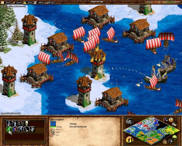 Age Of Empires 2 The Conquerors Video gameplay